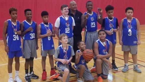 7th Grade White – Champions in Go-Live Shootout