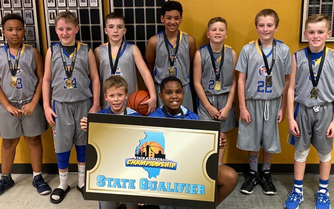 Gurnee Demons 5th Grade Champions in SOT TSN Christmas Classic