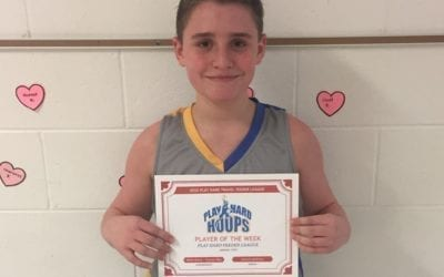 Blake Szwec – 8th Grade – PHH Feeder League Player Of The Week Sunday, January 19th