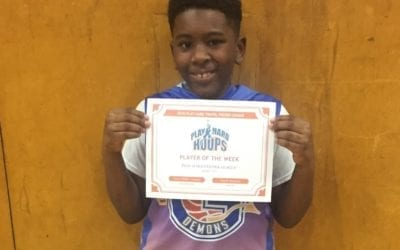 Jason White – 4th Grade – PHH Feeder League Player Of The Week Sunday, January 19th