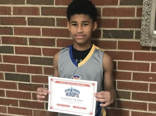 Michael Pierre – 6th Grade White – PHH Feeder League Player Of The Week Saturday, January 11th