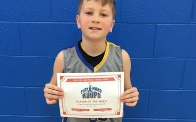 Reed Dangel – 6th Grade Blue – PHH Feeder League Player Of The Week Sunday, December 15th