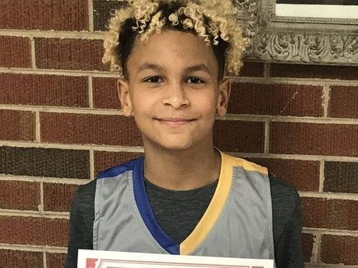 Ricky Gantar – 6th Grade White – PHH Feeder League Player Of The Week Saturday, January 18th
