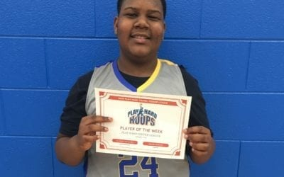 Vic Drake – 6th Grade Blue – PHH Feeder League Player Of The Week Saturday, January 11th