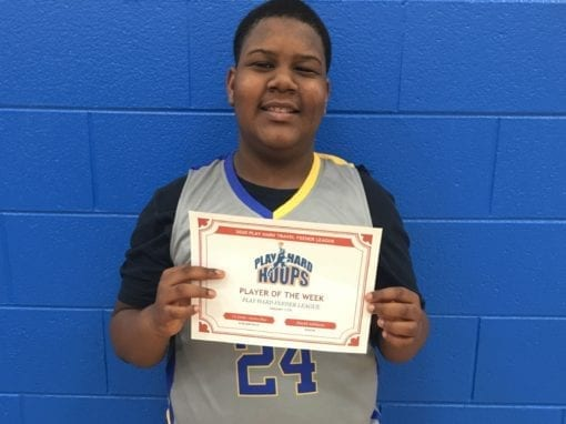 Vic Drake – 6th Grade Blue – PHH Feeder League Second Team All-League