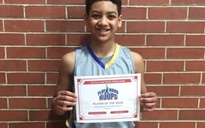 Xavier Vinson – 5th Grade – PHH Feeder League Player Of The Week Saturday, February 1st