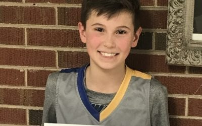 Joel Paasch – 6th Grade White – PHH Feeder League Player Of The Week Sunday, February 23rd