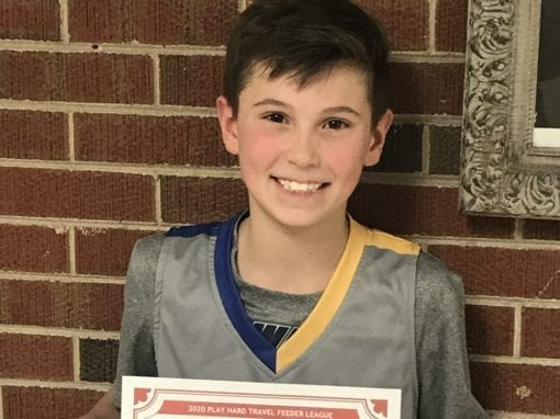 Joel Paasch – 6th Grade White – PHH Feeder League Player Of The Week Sunday, December 15th