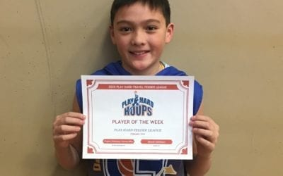 Peyton Balanag – 6th Grade Blue – PHH Feeder League Player Of The Week Sunday, February 9th