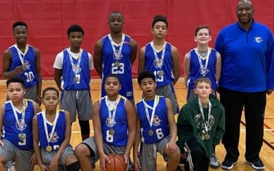 7th Grade White – Champions in Go-Live Feeder Shootout